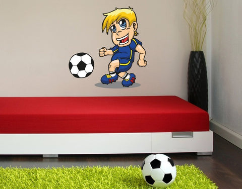 Little Kicker Wall Sticker-Wall Decal Stickers-Style and Apply