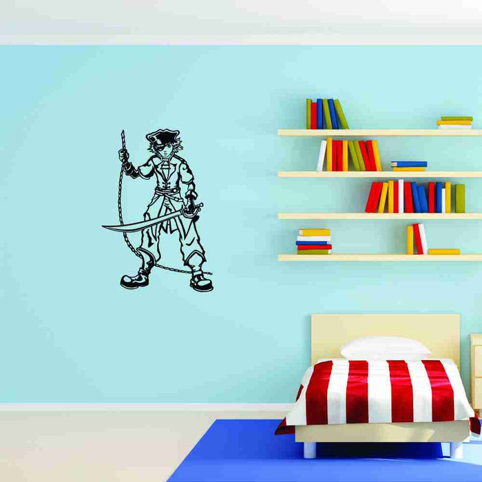 Little Pirate Wall Decal