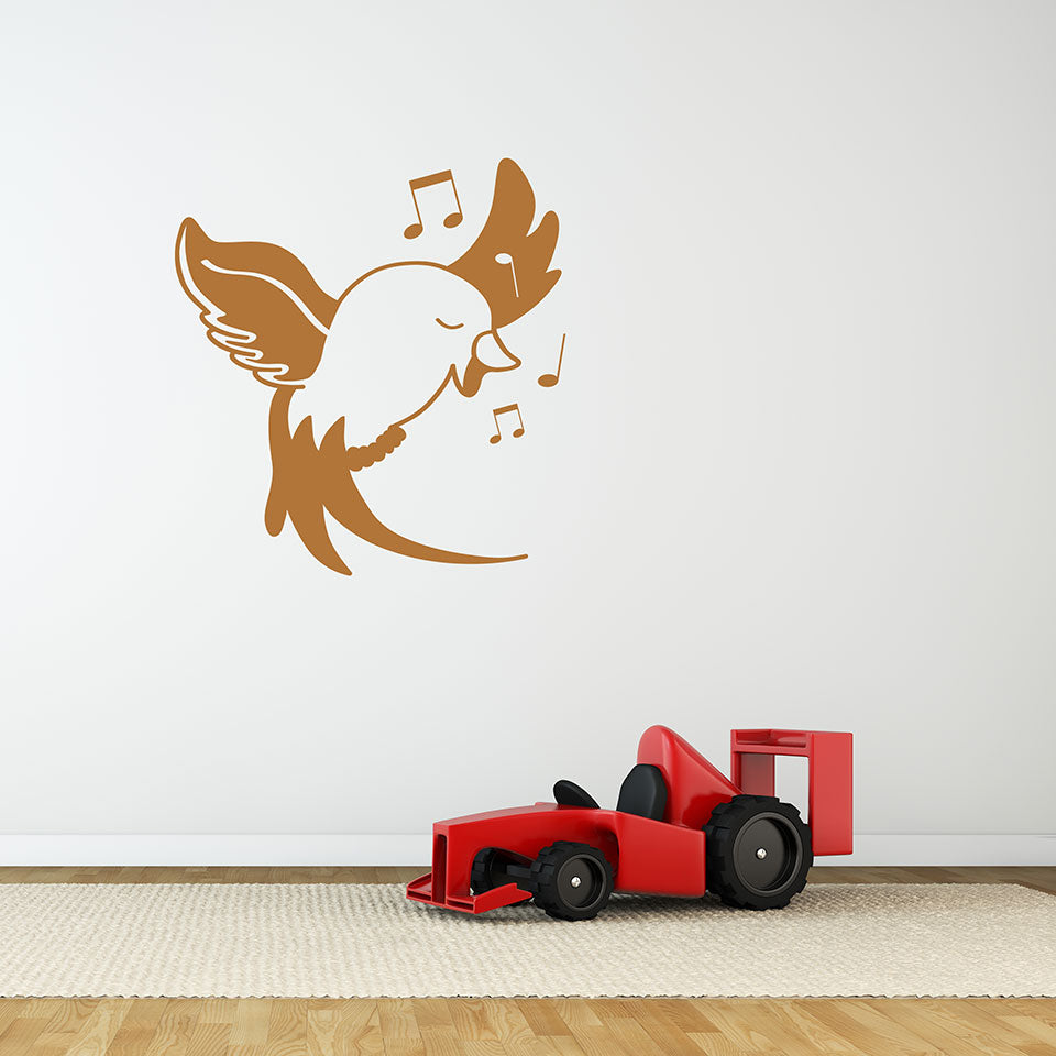 Little Bird Wall Decals Style And Apply
