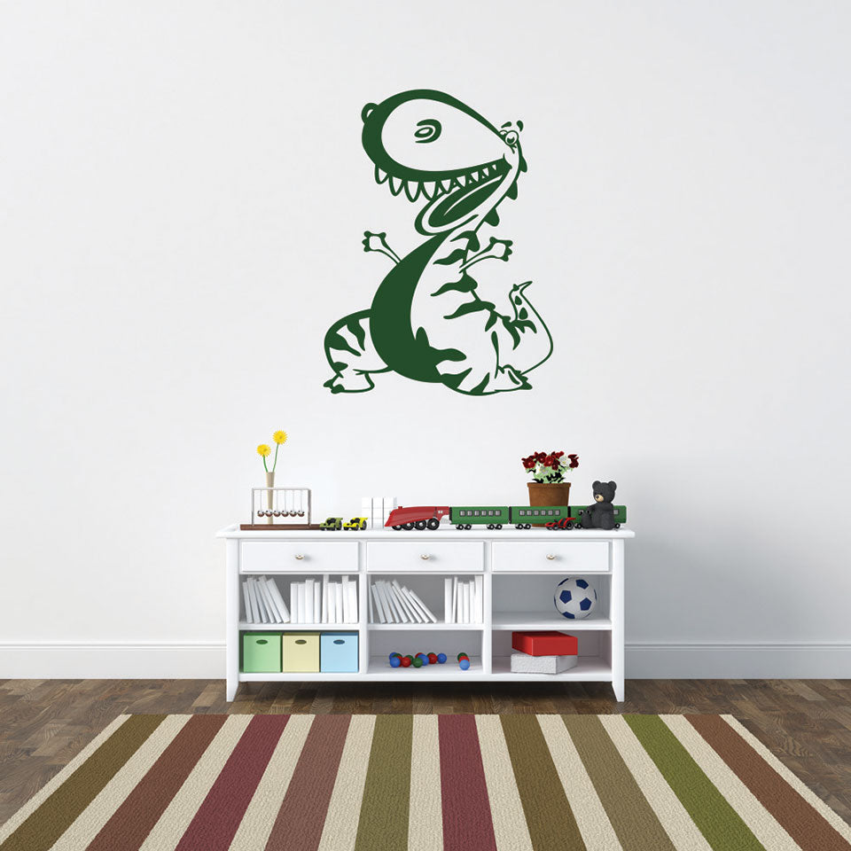 Little Dino Wall Decal Style And Apply