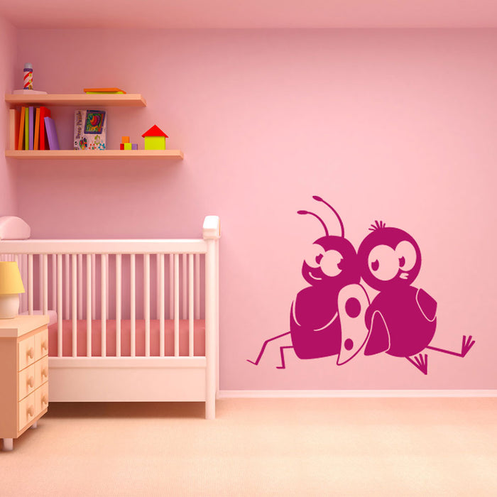 Little Friends Wall Decal