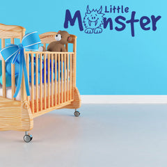 Little Monster-Wall Decals-Style and Apply