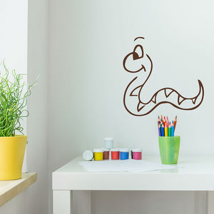 Little Snaky Decal-Wall Decals-Style and Apply