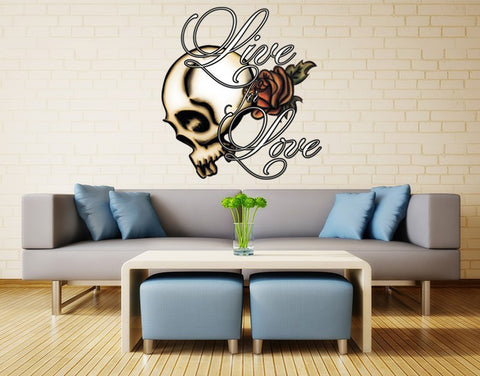 Live for Love Wall Decal-Wall Decal Stickers-Style and Apply