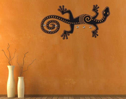 Lizard Wall Decal Hanger