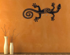 Lizard-Wall Decal Hangers-Style and Apply