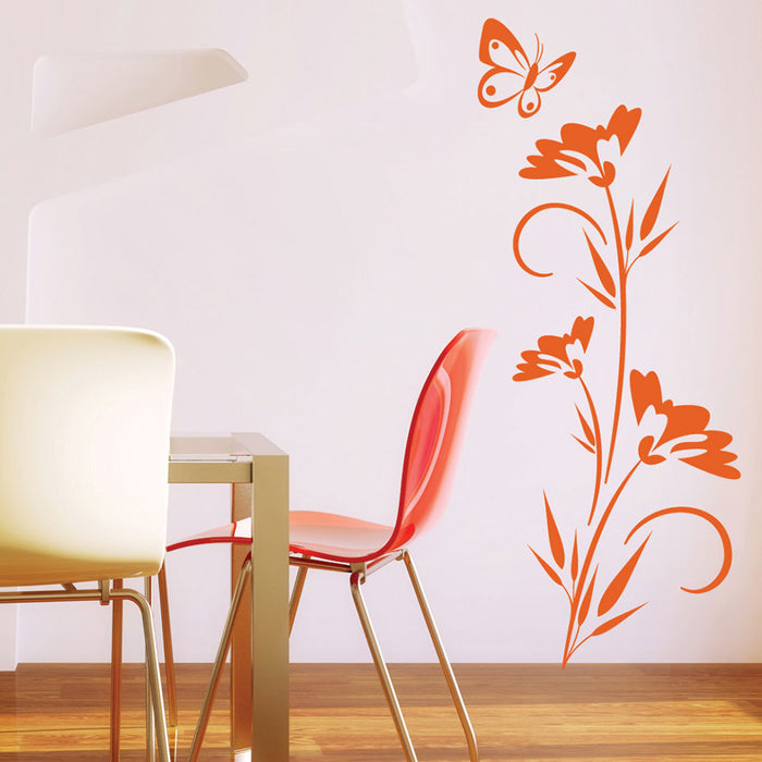 Lonely Butterfly Wall Decal