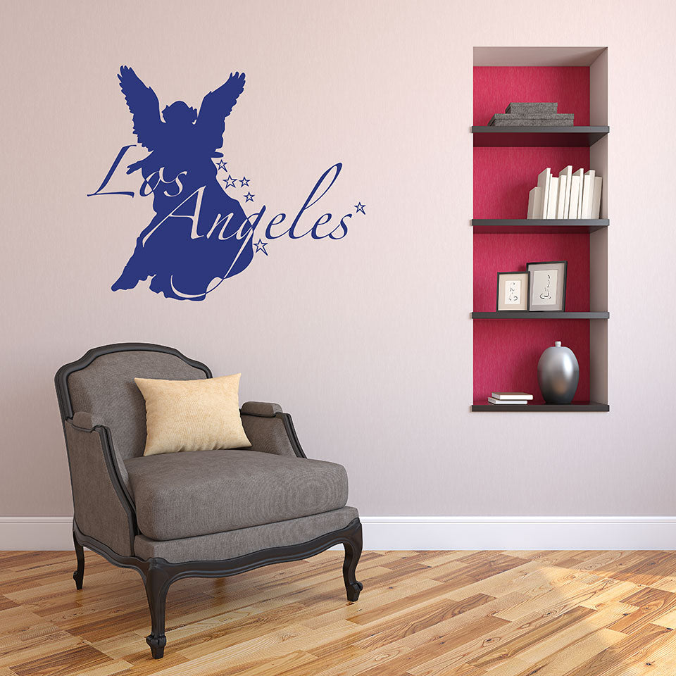 Los Angeles Sticker-Wall Decals-Style and Apply