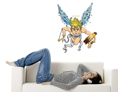Love Angel Amor-Wall Decal Stickers-Style and Apply
