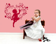Love Angel-Wall Decals-Style and Apply