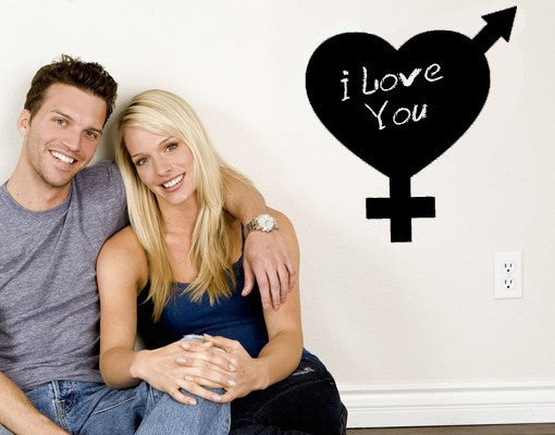 Love-Blackboard and Whiteboard Wall Decals-Style and Apply