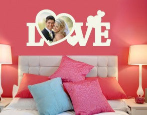 Love Picture Frame Wall Decal-Wall Decals-Style and Apply