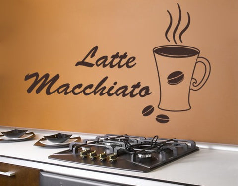 Macchiato-Wall Decals-Style and Apply