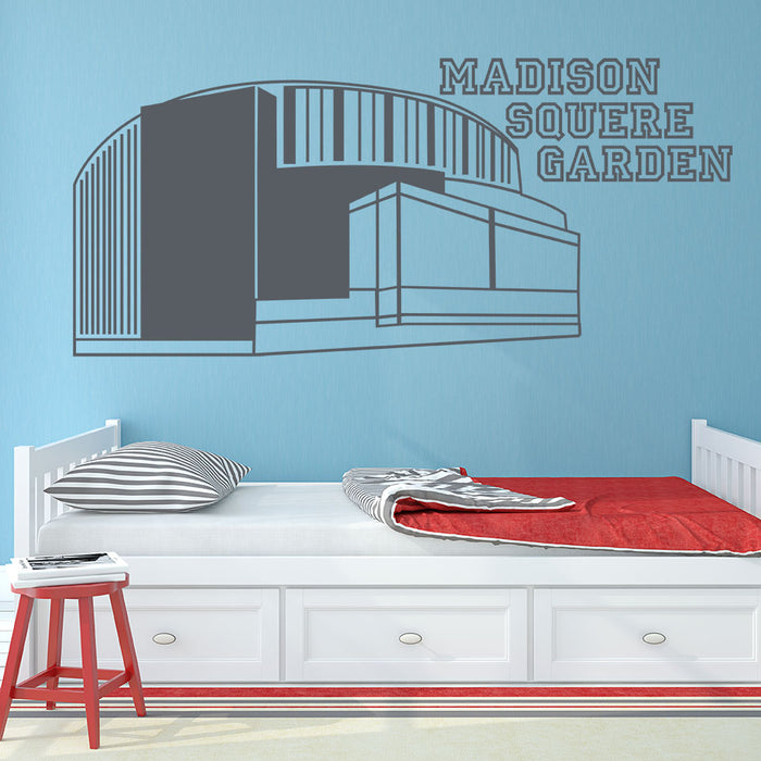 Madison Square Garden Wall Decal