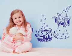 Magic Witch-Wall Decals-Style and Apply