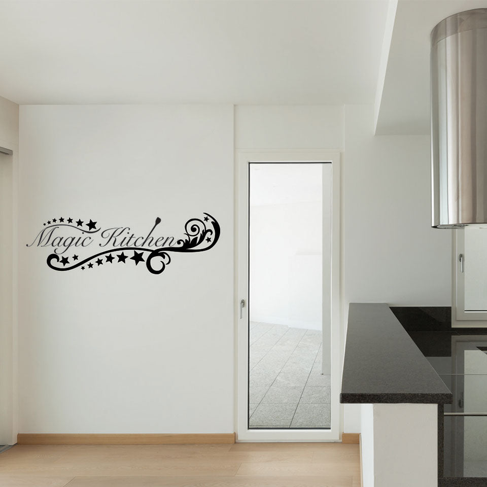 Magic Kitchen II-Wall Decal