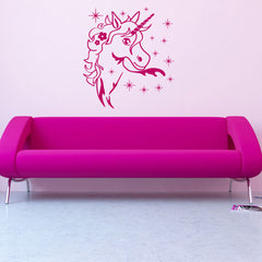 Magic Unicorn-Wall Decal