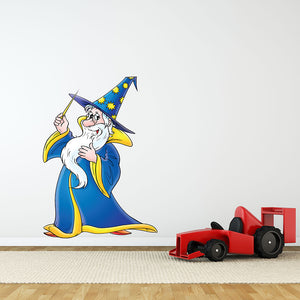 Magician Wall Sticker-Wall Decal Stickers-Style and Apply