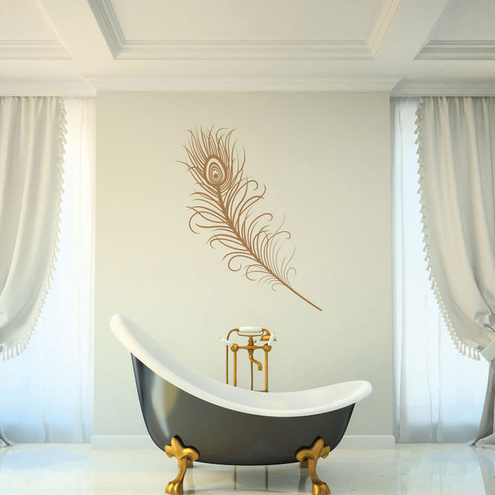 Magnificent Feather Wall Decal