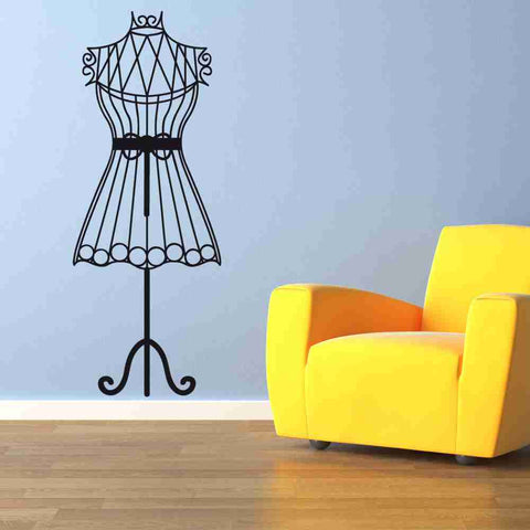 Mannequin Wall Decal-Wall Decals-Style and Apply