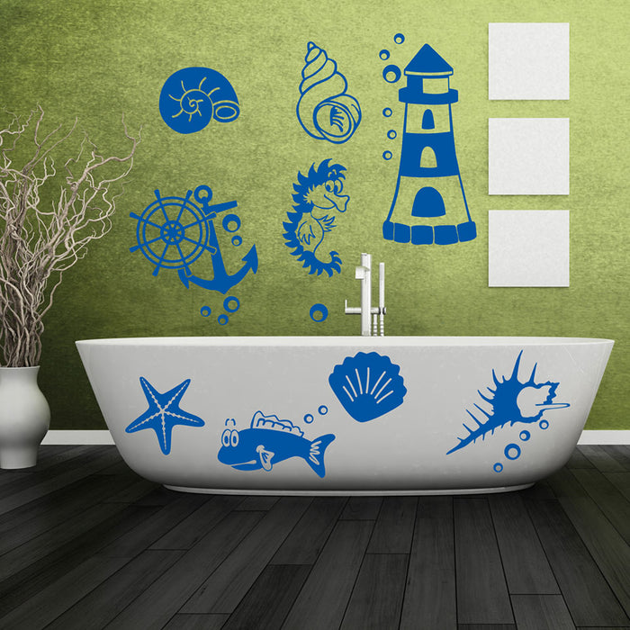 Maritime Set Wall Decal