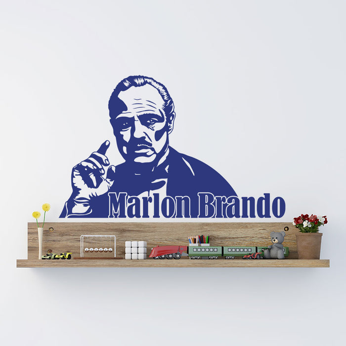 Marlon Brando Wall Decal