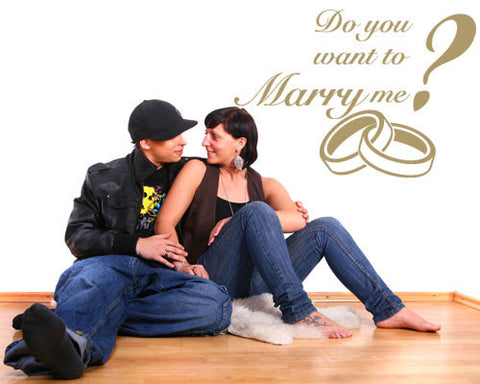 ...Marry me? Wall Decal Quote-Wall Decals-Style and Apply