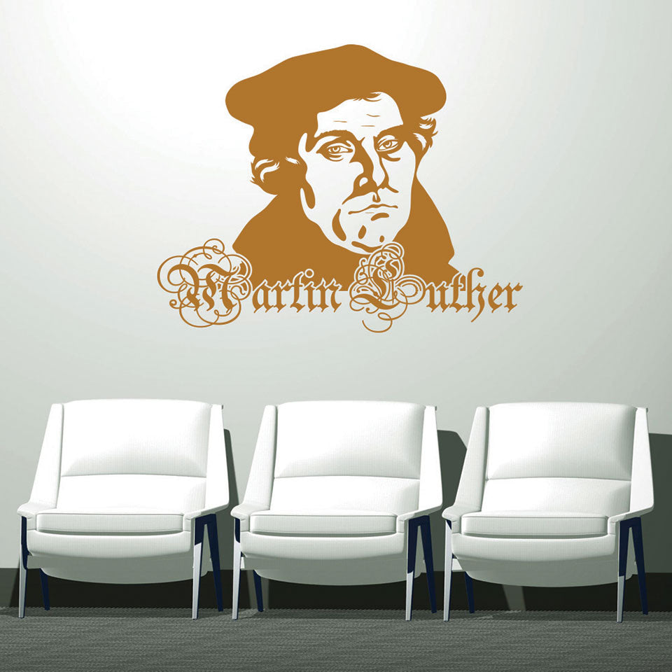 Martin Luther-Wall Decal