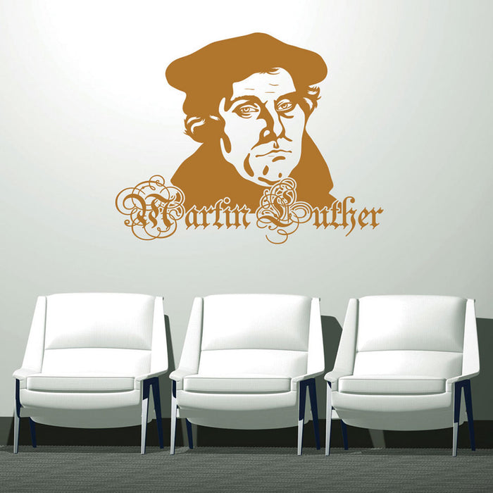 Martin Luther Wall Decal