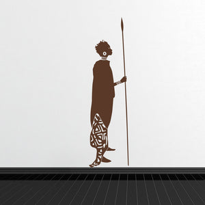 African Woman-Wall Decal