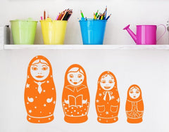 Matryoshka-Wall Decals-Style and Apply