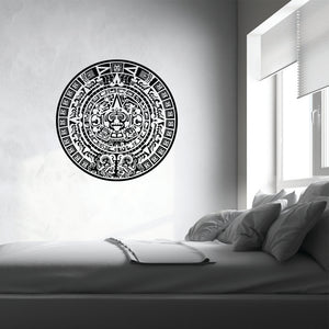 Maya Calendar II-Wall Decals-Style and Apply