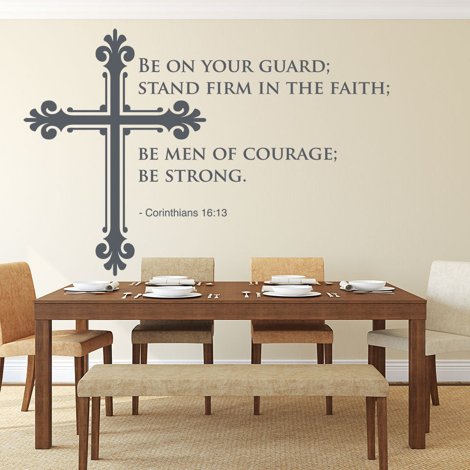 Men of Courage-Wall Decal