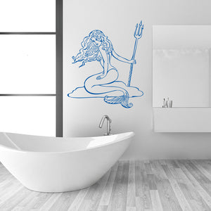 Mermaid-Wall Decal