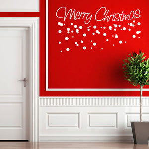 Merry Christmas-Wall Decal