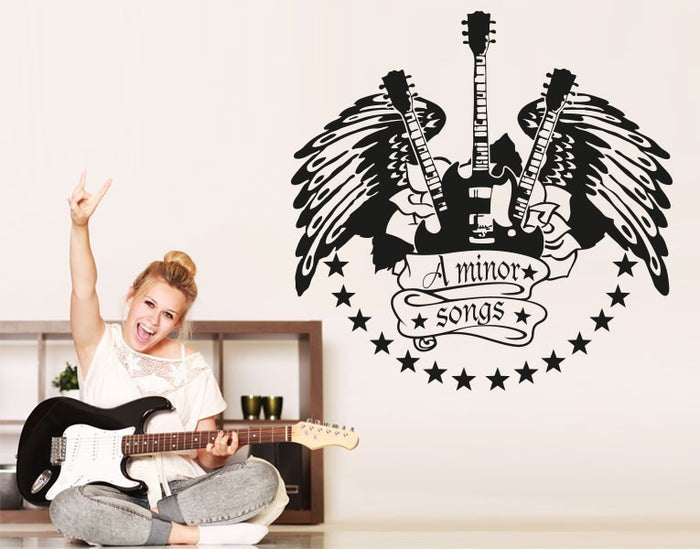 Minor Songs Wall Decal