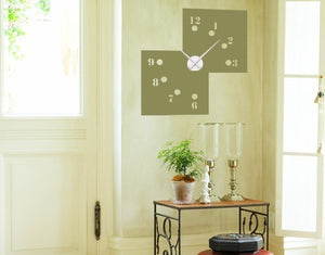 Missing Numbers-Wall Decal Clocks-Style and Apply