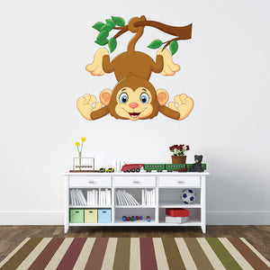 Monkey Tail Wall Decal