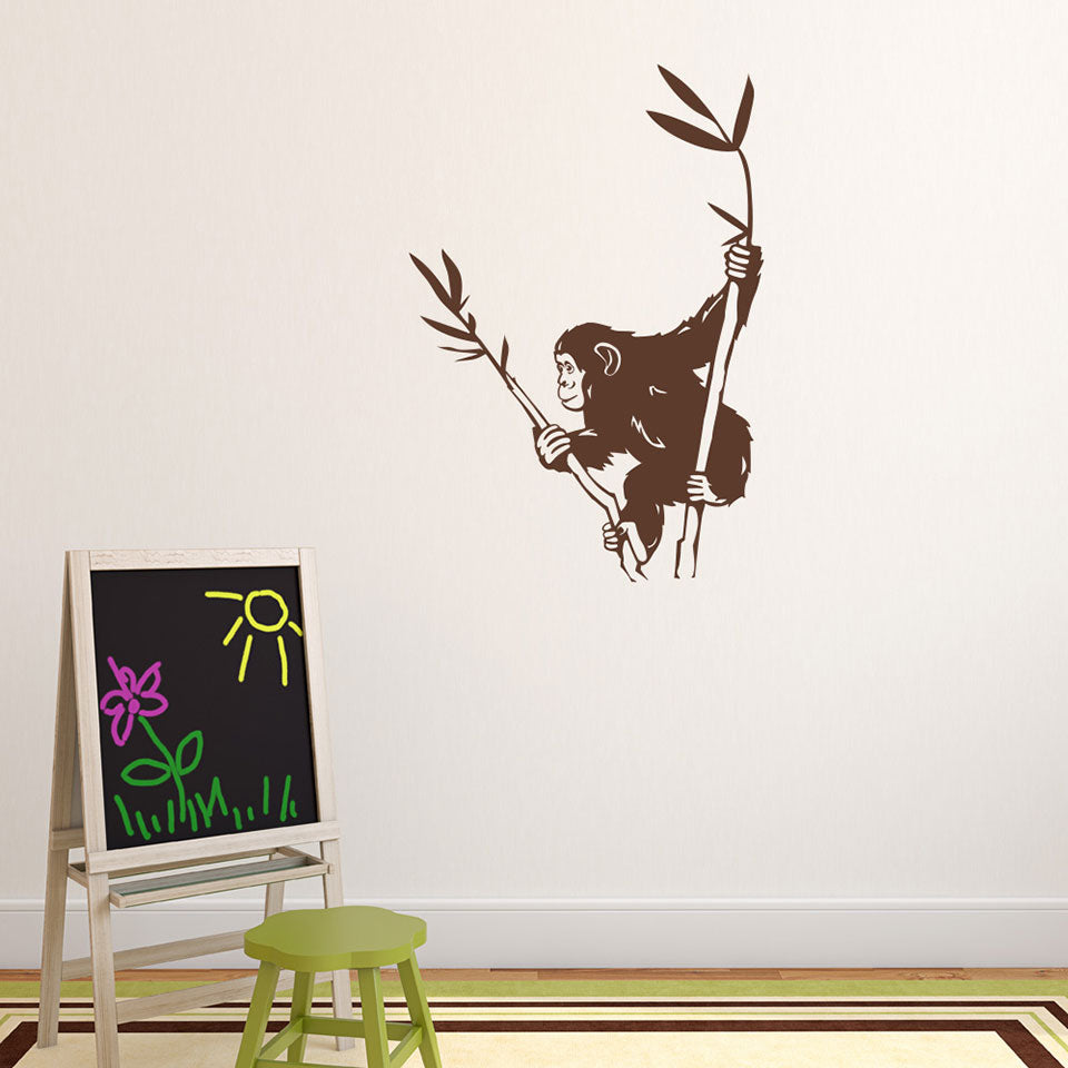 Chimpanzee-Wall Decal