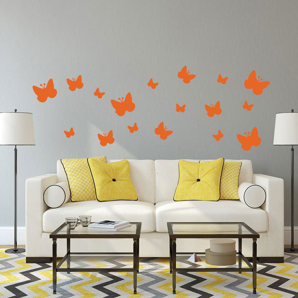 Moth Set-Wall Decals