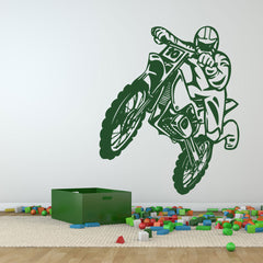 Motorcross-Wall Decal