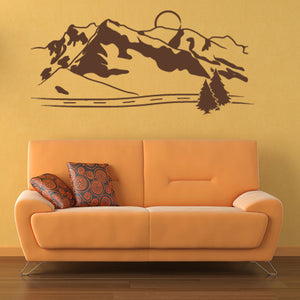 Mountains-Wall Decal