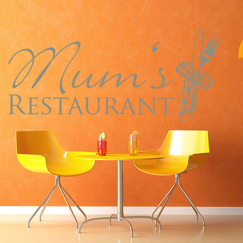 Mums Restaurant-Wall Decal