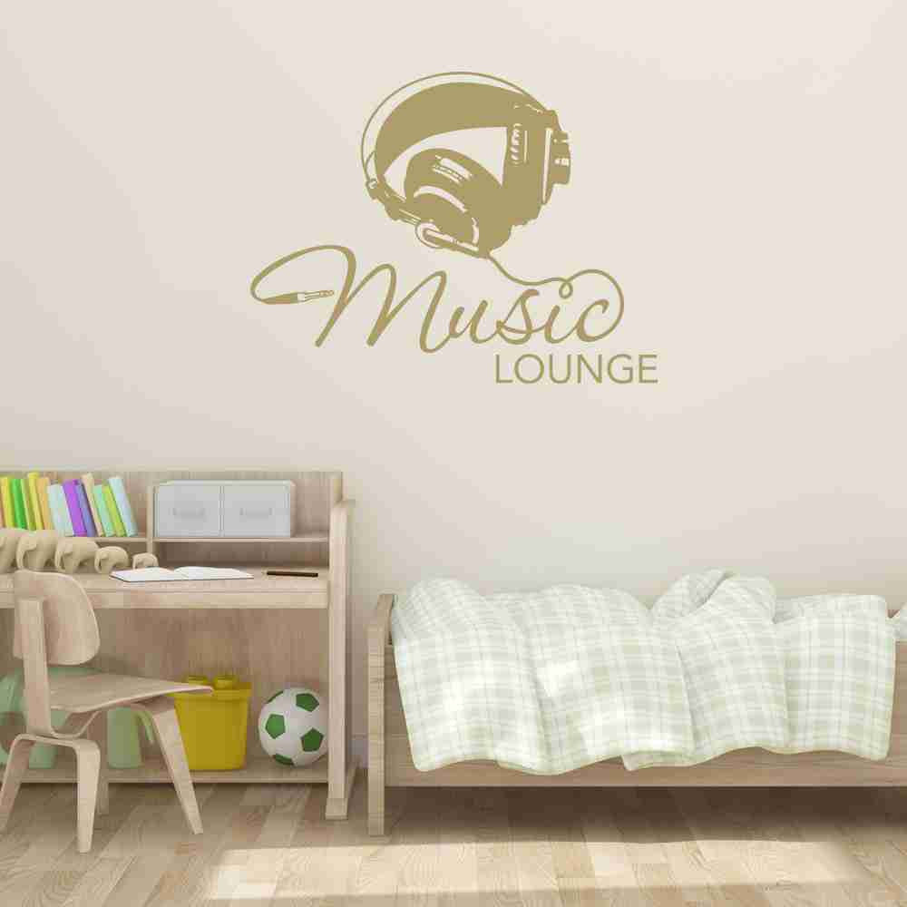 Music Lounge Wall Decal-Wall Decals-Style and Apply