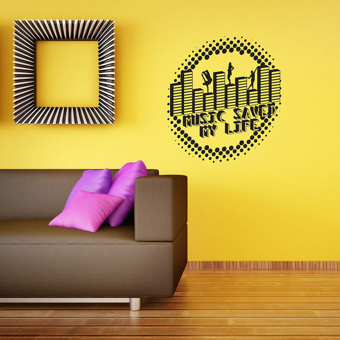 Music Saved Wall Decal