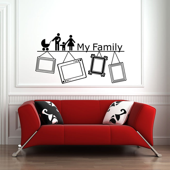 My Family Wall Decal