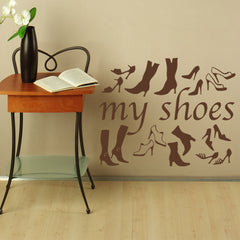 My Shoes-Wall Decal
