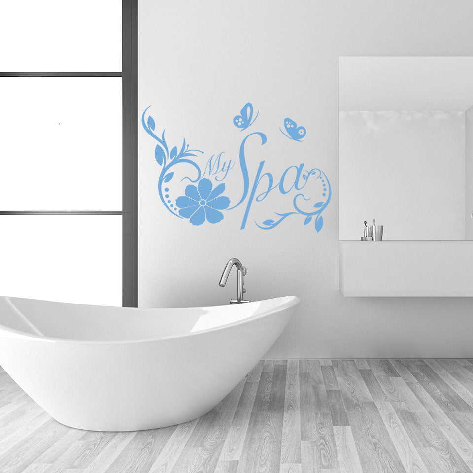 My Spa wall Decal
