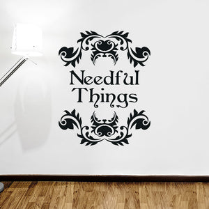 Needful Things Wall Decal