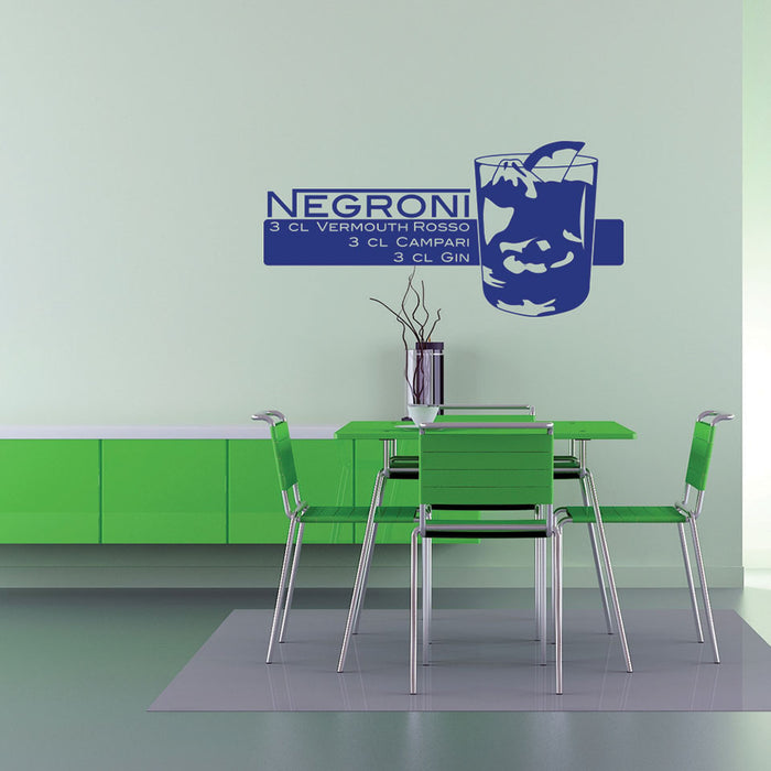 Negroni Wall Decal